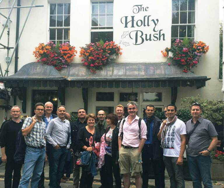 London hampstead secret tour